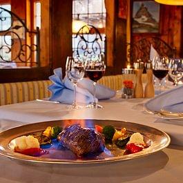 Chateaubriand im Flambee Restaurant Spycher