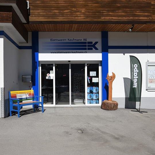 Willkommen bei Eisenwaren Kaufmann AG in Davos Platz!