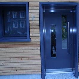 Aluminium Holz Haustüre