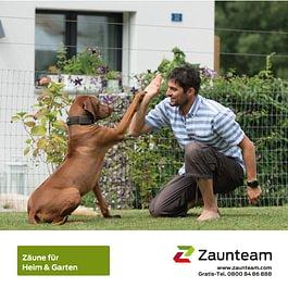 Zaunteam-Heim und Garten