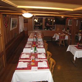 Restaurant hübsch hergerichtet
