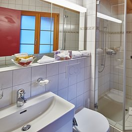 Appartment Badezimmer, Central Hotel Wolter Grindelwald