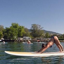 Yoga sur paddle