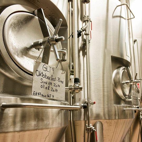 Eigene Bierproduktion