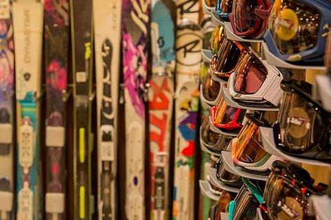 livraison de ski