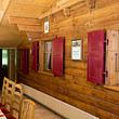 La salle à manger au 1er étage
