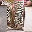 Portail en fer forgé à 1 vantail, fabrication artisanale par ABC Forgeron Sàrl