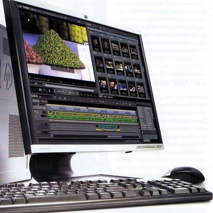 Computertower für Videoschnitt