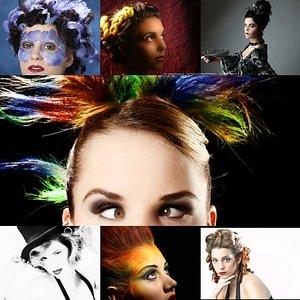 Fasnachtsball Hairstyling und Make-up