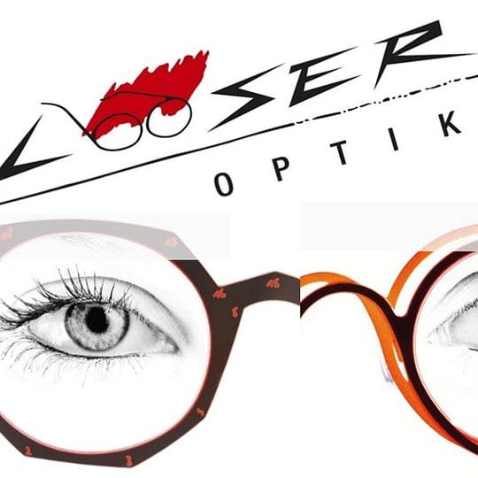 modernes Brillengechäft
