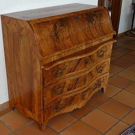 Bureau-commode (restauration)-Ebénisterie Philippe Ducraux-St-Légier