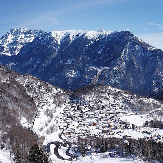 La région en hiver