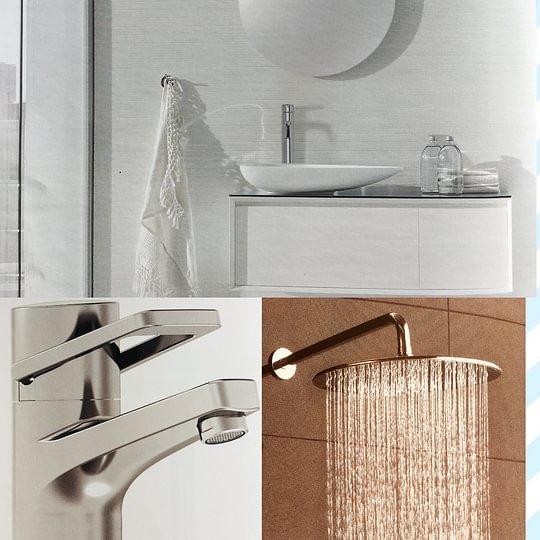Installations sanitaire; rénovations de salle de bains, remplacement de robinetterie