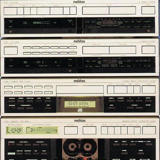Stereoanlage Revox B 200