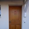 Porte d'entrée en chêne - Menuiserie-Agencement Eloi Bosson