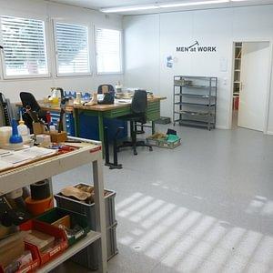 Einblick in die Werkstatt