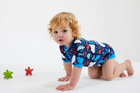 Splash About Baby-Wetsuits aus weichem Neopren mit integrierter Schwimmwindel