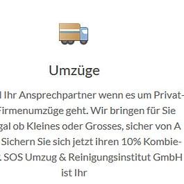 SOS Umzüge & Reinigungsinstitut GmbH