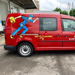unsere Servicemonteure sind ständig für Sie unterwegs.