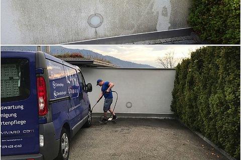 Fassadenreinigung Schwyz