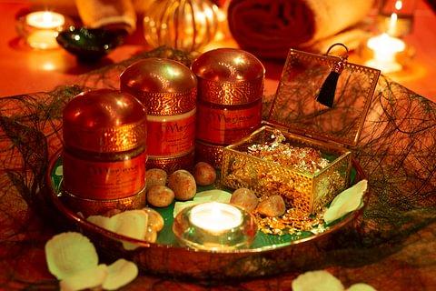 Rituale prezioso all'ambra in Suite Prestige