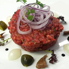 Tartare de filet de boeuf