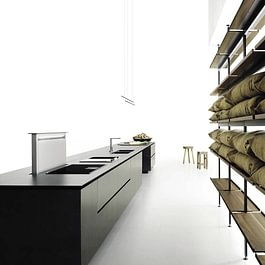 K14 Küche - Boffi Studio Aarau