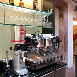 """Manche sagen """"der beste Kaffee der Stadt!"""""""