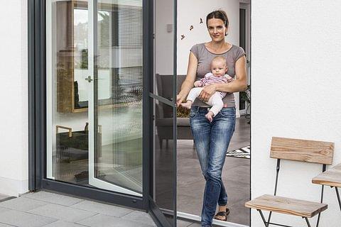 Insektenschutz Türe - Fliegengitter & Insektenschutzgitter für Türen