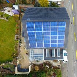 Solaranlage Vordemwald