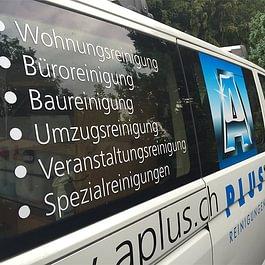 Unsere Reinigungsfirma ist rund um den Zürichsee für Sie im Einsatz