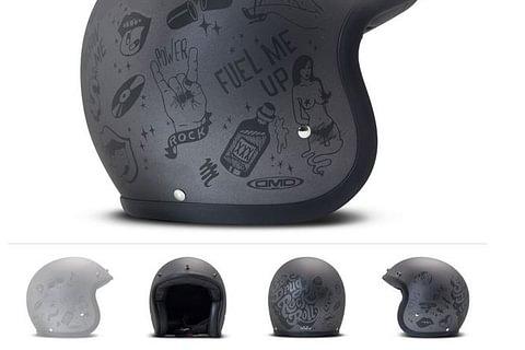 DMD Helmet You Rock