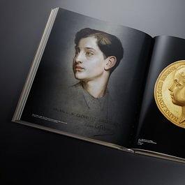Livre d'art pour un cabinet numismatique