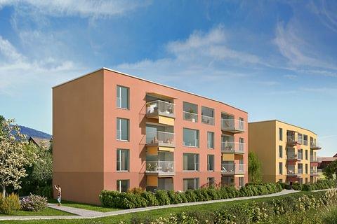 Appartements dans immeubles en cours de construction, à Châtel-St-Denis