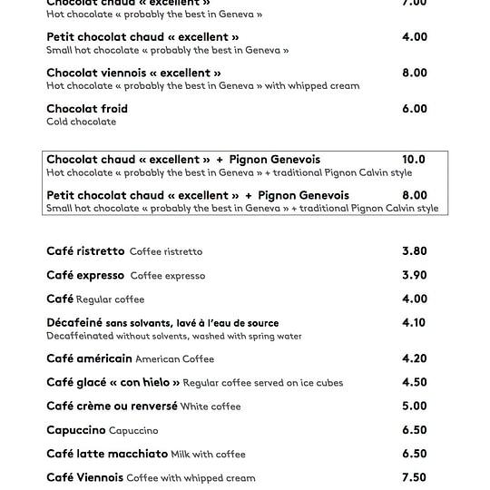 Carte the-cafe