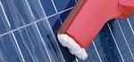Solarmodul-Reinigung