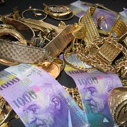 Schmuckankauf gegen Bargeld