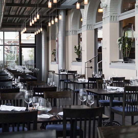 Restaurant Falkenburg, St. Gallen - Wintergarten der Falkenburg