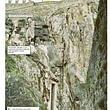 Da GeologiaTicino, ancoraggi al Castelgrande di Bellinzona