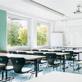 Feusi Bildungszentrum Standort Solothurn, Schulzimmer
