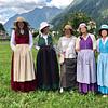 Costumi storici (femminili) Valle Blenio