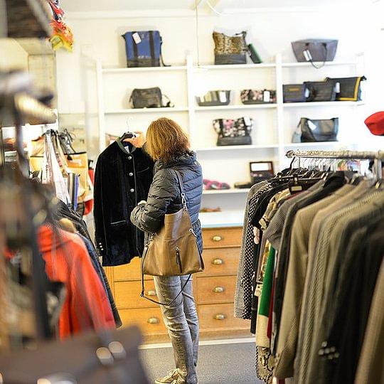 kleikaSecondhand, St. Gallen - Laden innen
