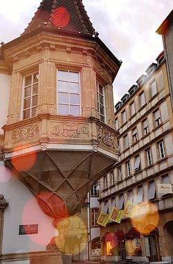 Au coeur de la ville de Neuchâtel