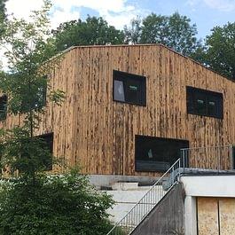 Holzsystembau, Pfadiheim Baar
