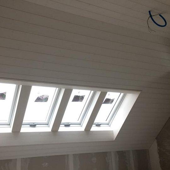 Innenausbau und Dachfenster