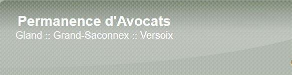 Aide et Conseils Permanence d'avocats de Versoix