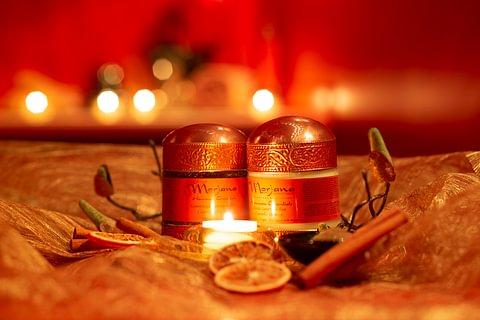 Rituale speziato cannella e arancia in Suite Prestige