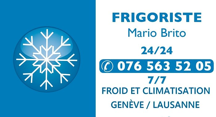 Frigoriste Mario Brito