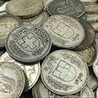 Silbergeld abgebildet 5 Franken Silber Schweiz