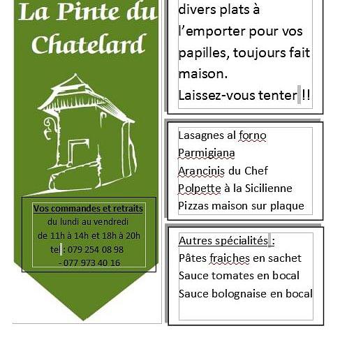 La Pinte du Châtelard